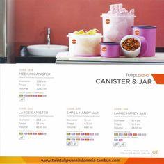 Canister & Jar Twin Tulipware | Tulip Living