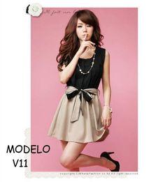 Resultado de imagen para vestidos coreanos modelos juveniles