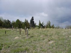 Boothill Cemetary - Sidney Neraska ~ Photo by amanderson.