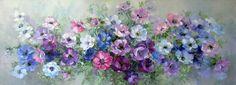 Я любуюсь совершенством цветов... Художница Оксана Кравченко.. Обсуждение на LiveInternet - Российский Сервис Онлайн-Дневников