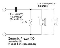 3Way Crossover Speaker Circuit Audio DIY Pinterest