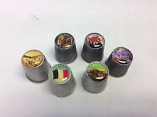 Collectible Thimbles Pewter Lot Of 6 Various Locations