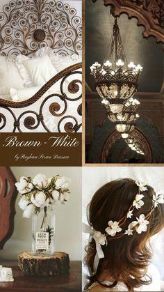 '' Brown & White '' by Reyhan Seran Dursun