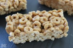Peanut Butter Cheerio Bars Homemade