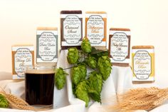 Organic Beer Soap Six Pack Gift Set made by OldArborOrganicSoaps, $29.00
