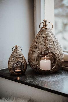 Orientalische Lampen gold