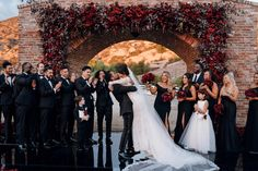 Miguel and His Longtime Love, Nazanin Mandi, Are Married—Inside Their Wedding at Hummingbird Nest Ranch in California Colored Wedding Dresses, Green Wedding Shoes, Wedding Colors, Hailey Bieber Wedding, Wedding Bride, Dream Wedding, Hummingbird Nest Ranch, Reception Gown, Bridezilla