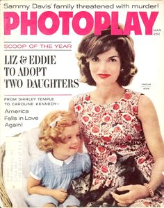 The Kennedy kittens!( First Lady With Her  daughter (Caroline Bouvier Kennedy (born November 27, 1957) ❤❁❤❁❤❁❤❁❤❁❤ http://en.wikipedia.org/wiki/Jacqueline_Kennedy_Onassis http://en.wikipedia.org/wiki/Caroline_Kennedy