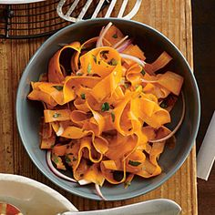 Shaved Carrot Salad | MyRecipes.com #myplate #vegetable