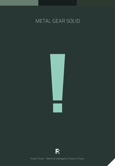Affiches minimalistes de jeux vidéos Affiche Minimaliste Jeu Video 10 geek design bonus