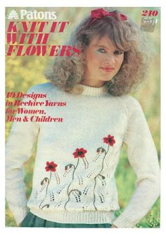 Patons 240   Knit It With Flowers Http://knits4kids.com/ru/collection Ru/library Ru/album View/?aid=54126