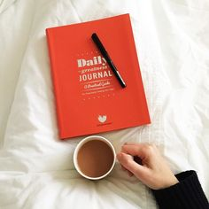 #savouringjanuary2017 Day 1: Quiet I've gone back to bed for some quiet time just me tea and my new journal