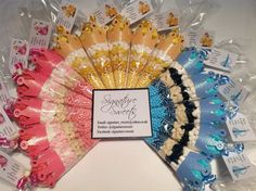 Personalised Pre Filled Disney Princess Birthday Sweet Cones Bags Party Favours