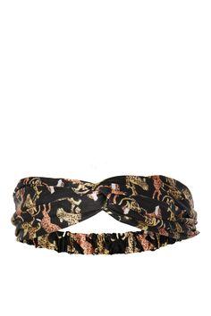 Tiger Silky Headband
