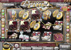 Jouer avec cette extraordinaire machine à sous 20 lignes A Switch Time, et remontez le temps pour gagner le Jackpot !  http://www.casinobens.com/machines-a-sous-20-lignes-a-switch-time.php