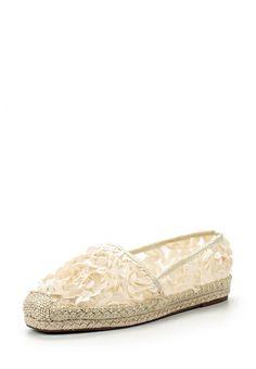Эспадрильи Dino Ricci Trend  Эспадрильи Dino Ricci Trend. Цвет: бежевый. Материал: искусственная кожа, текстиль. Сезон: Весна-лето 2016. Одежда, обувь и аксессуары/Обувь/Женская обувь/Мокасины