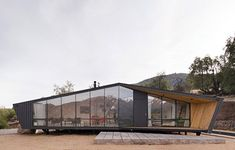 WAN:: Mountaineers Refuge by Gonzalo Iturriaga Arquitectos in Santiago