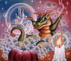 Bubble Fantasy via MuralsYourWay.com