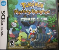 pokemon mystery dungeon: explorers of time for nintendo NDS, DS, DSLITE, 3DS 2DS