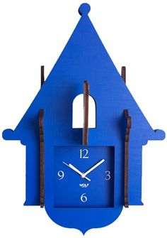 WOLF 333805 Jigsaw Cuckoo Clock Blue >>> Want to know more, click on the image.