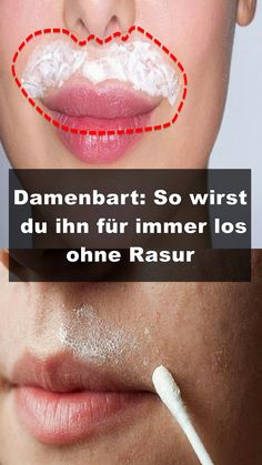 Damenbart: So wirst du ihn für immer los ohne Rasur Every woman knows the problem. It grows hair in places of the body, where they [. Beauty Skin, Health And Beauty, Hair Beauty, Beauty Tips, Beauty Care, Beauty Products, Beauty Secrets, Natural Hair Mask, Natural Hair Styles