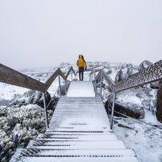 Summer adventures atop kunanyi / Mt Wellington... (via IG/spkruit) #discovertasmania #seeaustralia #hobartandbeyond  www.parkmyvan.com.au #ParkMyVan #Australia #Travel #RoadTrip #Backpacking #VanHire #CaravanHire