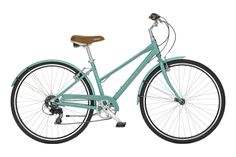 My dream bike, colors and all. It's the Bianchi Milano Dama. It's even fun to say it.