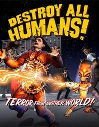 Resultado de imagem para destroy all humans pc