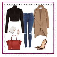 """fall in winter"" by sasenocka69 on Polyvore featuring Harris Wharf London, BCBGMAXAZRIA, Christian Louboutin, Calvin Klein and Marc by Marc Jacobs"