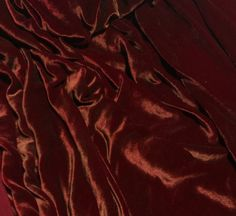 Silk Velvet Fabric with hand painted Antique Gold on Ruby Red Luscious silk/rayon velvet.Price is per yard - 45 inches wide. Burgundy And Gold, Burgundy Color, Aphrodite Aesthetic, Gold Aesthetic, Hand Painted, Painted Silk, Silk Painting, Velvet Painting, Ruby Red
