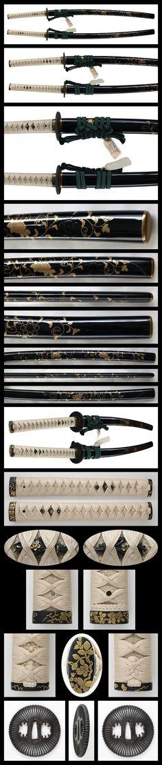 Katana: Oumi no kami Fujiwara Tsuguhira Tsukuru(with cutting test) | Japanese Sword Shop Aoi-Art.