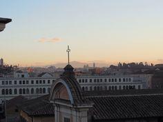 Hotel San Francesco, rooftop view - Trastevere, Rome, Italy