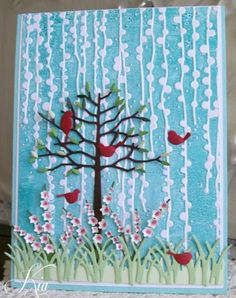 Garden Shower by kiagc - Cards and Paper Crafts at Splitcoaststampers