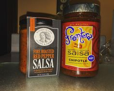 Stepped up my salsa game pretty srsly tonight. Every time I shop, if any salsa has roasted, smoky, Mexican, or chipotle written on its front label, my eyes are glued to it until I decide which one I want. Today I brought home these two suckers. Hands down, THE best flavor I've ever had in my burrito wrap mixing these two in. The taste I've been searching for has finally came.. 🙌🏼 Dat roasty, smoky, garlicy, chipotle, tomatillo taste is GOLD 😎 #srs  If you want a sustainable diet that…