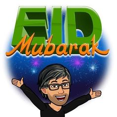 To all my Muslim family and friends wherever you are.