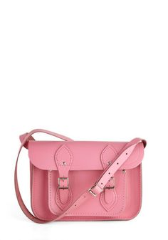 The Cambridge Satchel in Pink, a perfect bag to stash your Valentines! ;)