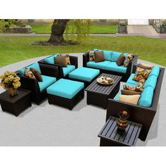 Barbados 12 Piece Deep Seating Group with Cushion http://www.dealepic.com/?post_type=deal&p=266194&preview=true