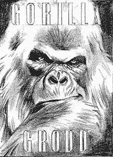 Alex Ross - DC Comics Sketch 4759, Gorilla Grodd