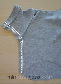 sewing dog sweater