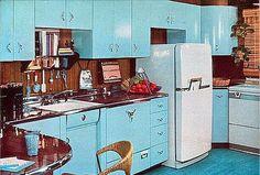 cozinhas anos 50 - Pesquisa Google