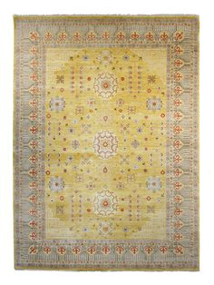 Landon Hand-Knotted Rug (8'x10') by FJ Kashanian at Gilt