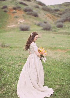 Alixann Loosle Photography: Afton + Bryan Bridals    I'm in love with her gown