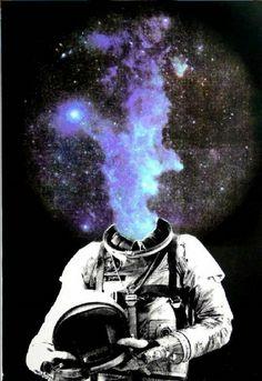 Major Tom Blew His Mind, maybe one too many times. Bad Trip, Art Et Design, Psy Art, Major Tom, Photocollage, Foto Art, Gif Animé, Trippy, Aliens