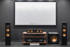 Create the Perfect Bar in Your Own Home Today - Man Cave Home Bar Home Theater Setup, Home Theater Speakers, Home Speakers, Home Theater Rooms, Home Theater Design, Home Theater Seating, Cinema Room, Home Interior Design, Klipsch Home Theater