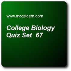Biology Online Quiz - MCQs Questions and Answers - Online A level Biology Quiz 28 Quiz With Answers, Quiz Questions And Answers, Question And Answer, This Or That Questions, Biology Online, Biology College, Study College, Online College Classes, Test Exam