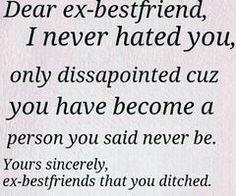 Ex Best Friend Quotes For Girls good ex boyfrie...