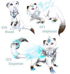Fake Cat/Ferret like pokemon