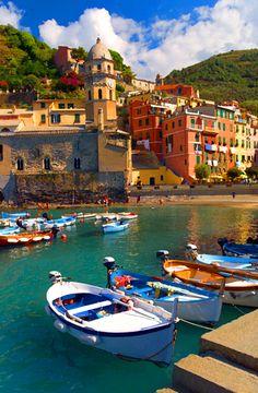 vernazza, cinque terre, province of La Spezia , Liguria region Italy