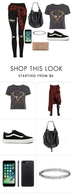 """""""Untitled #216"""" by marvel1 ❤ liked on Polyvore featuring Topshop, Faith Connexion, Vans, Apple, Accessorize and Balenciaga"""