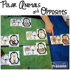 We recently wrapped up our unit on Polar Animals and Opposites. The lessons started with this adorable book about a loud, big white polar bear named Alex, and his small, quiet best friend Zina. Alex and Zina live on opposite sides of the world, but they travel to meet each other in the middle. This...Read More »